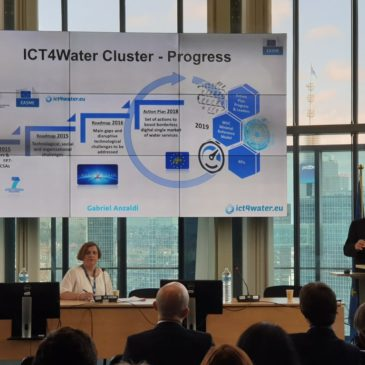 Flash report: ICT4Water cluster Annual Event 2019
