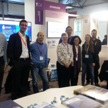 ICT4Water sessions and booth at ICT2018 in Vienna